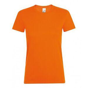 SOLS (XXL, Orange) SOLS Womens/Ladies Regent Short Sleeve T-Shirt