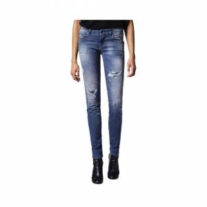 Diesel (W27 L30) DIESEL GRUPEE 0679C Womens Denim Jeans Super Skinny Fit Blue DNA Faded