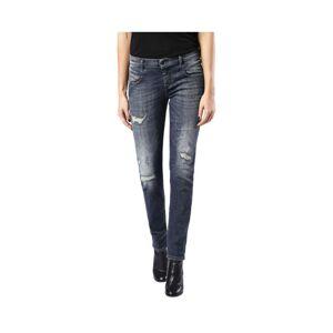 Diesel (W27 L32) DIESEL BELTHY 0860K Womens Denim Jeans Regular Slim Dark Blue Italy Zi