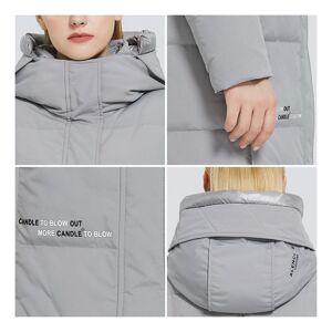 Slowmoose (201 Black, XL) Women,s Long Cotton Coats