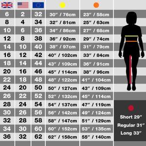 Regatta (16 UK, Blue Skies) Regatta Womens/Ladies Maleena II Casual Capri Trousers