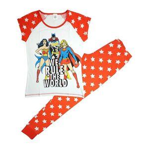 DC Comics (Small (8-10)) Women's DC Superheroines Rule The World Pyjama Set