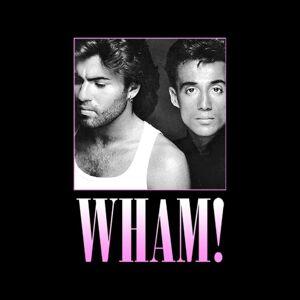 Wham! (Large) Wham! Pink Fade Women's T-Shirt