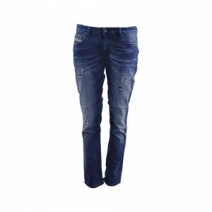 Diesel (W25 L27) DIESEL RIZZO NE 0666W Womens Denim Jogg Jeans Distressed Regular Fit S