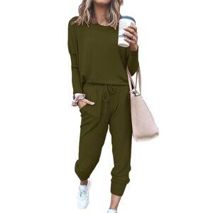 JS One (XL) Womens Baggy Top & Pants Casual Wear Sport Lounge Tracksuit