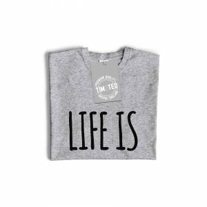 Tim And Ted (L, White) Novelty Lazy Womens TShirt Life Is Better In Pyjamas Slogan Bed Teena