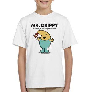 Cloud City 7 (Medium, White) Mr Drippy Ni No Kuni Lord High Mr Men Kid's T-Shirt