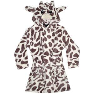 a2zkids (11-12 Years) Kids Girls Boys Bathrobe 3D Animal Giraffe Dressing Gown Fleece Ni