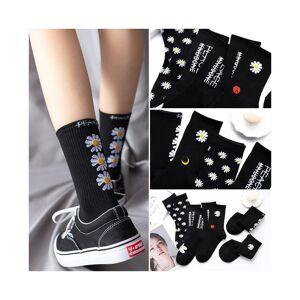 Slowmoose (24-203008818/36-42) Korea Funny Long Hip Hop Cotton Skateboard Socks For Men/Wo