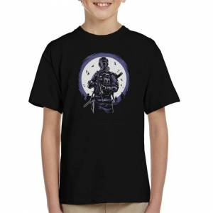 Tees In The Wood (X-Large (12-13 yrs)) Gas Mask Soldier Kid's T-Shirt