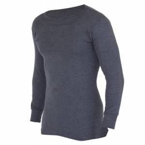 Floso (Chest: 40-42inch (Large), Charcoal) FLOSO Mens Thermal Underwear Long Sleeve Ve