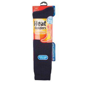Heat Holders (6-11 UK, Navy) Heat Holders - Mens Extra Long Thick Thermal Knee High Socks 6-1