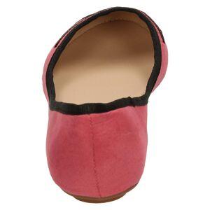 Anne Michelle (UK 5, Pink) Ladies Anne Michelle Suedette Ballerina Shoes