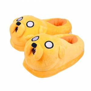 EASTVAPS Adventure Time Indoor Shoes Plush Slippers Anime