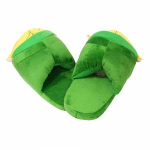 EASTVAPS Zelda Legend Link Plush Slippers Cartoon Winter Warm Cotton Shoes
