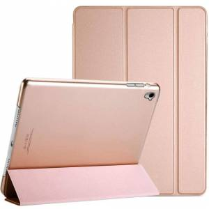Soniqe (Gold) Pu Leather Fold Folio Shockproof Stand Smart Case Cover For Apple iPad 10