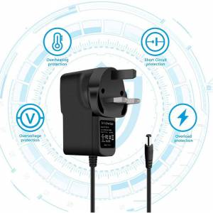 Custom Whip Styling Power Supply AC DC Adapter UK Plug Charger For Dyson SV06