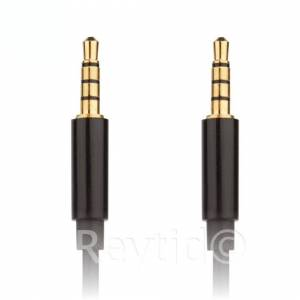 REYTID Universal 3.5mm Aux Audio Cable iPhone/iPod/iPad Car Auxiliary Lead Wire Cord