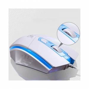 Unbranded (White) Gaming Keyboard Mouse Set Wired Combo For PC Laptop Gamer