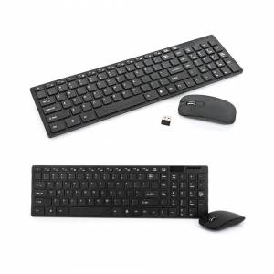 Unbranded (Black) Wireless Keyboard And Mouse Combo Set