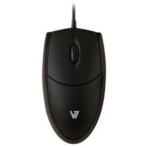 V7 Optical LED USB Mouse - black