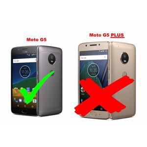 Cadorabo – Flip Style Case for  Lenovo (Motorola) MOTO G5