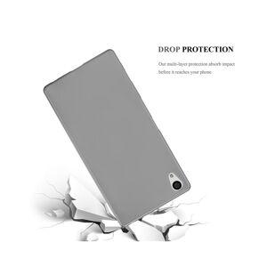 Cadorabo (METALLIC GREY) Cadorabo Case for Sony Xperia Z5 PREMIUM case cover