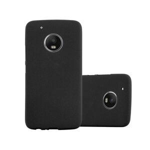 Cadorabo (FROST BLACK) Cadorabo Case for Motorola MOTO G5 case cover