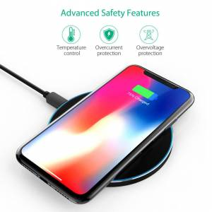 xb Fast Qi Wireless Charger Pad Mat Dock For iPhone 11 8 Plus X XS Max XR