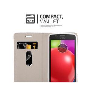 Cadorabo (DARK BLUE BLACK) Cadorabo Case for Motorola MOTO E4 case cover