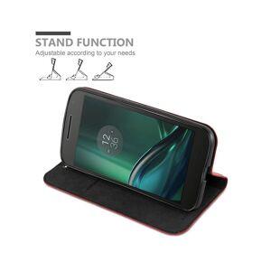 Cadorabo (APPLE RED) Cadorabo Case for Motorola MOTO G4 / G4 PLUS case cover