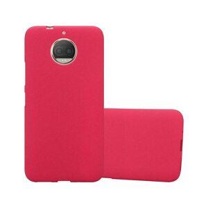 Cadorabo (FROST RED) Cadorabo Case for Motorola MOTO G5S PLUS case cover