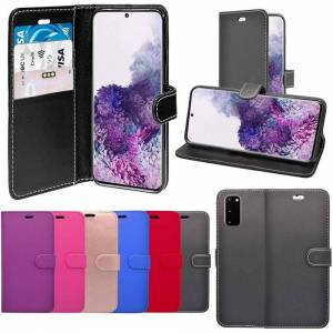 Samsung For Samsung Galaxy S20 5G Rose Gold Wallet Flip PU Leather Case Cover