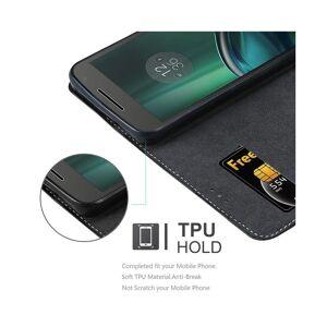 Cadorabo (BLACK BROWN) Cadorabo Case for Motorola MOTO G4 / G4 PLUS case cover