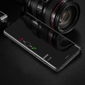FinestBazaar (Huawei P10 Lite, Purple) New Luxury Smart View Mirror Flip Stand Case Phone Cov