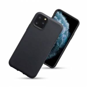 Apple Case For Apple iPhone 11 Pro Max Black Silicone Gel Cover
