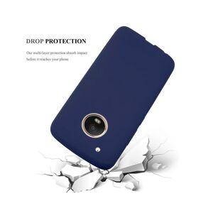 Cadorabo (CANDY DARK BLUE) Cadorabo Case for Motorola MOTO G5 PLUS case cover