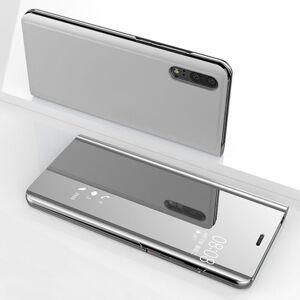 FinestBazaar (Huawei P10 Lite, Silver) New Luxury Smart View Mirror Flip Stand Case Phone Cov
