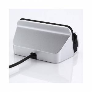Custom Whip Styling Samsung Galaxy S20 Ultra Type-C Silver Desktop Charger & Sync Dock