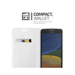 Cadorabo (CLASSY SILVER) Cadorabo Case for Motorola MOTO G5 case cover