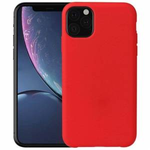 FinestBazaar (Red, For Apple iPhone 12 Mini) New Shockproof Bumper Clear TPU Case Tempered Gl