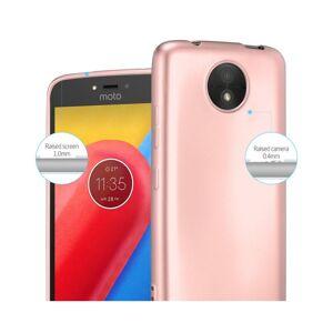 Cadorabo (METALLIC ROSE GOLD) Cadorabo Case for Motorola MOTO C case cover
