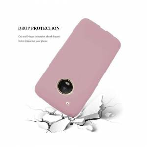 Cadorabo (CANDY PINK) Cadorabo Case for Motorola MOTO G5 PLUS case cover