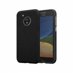 Cadorabo (DAHLIA BLACK) Cadorabo Hybrid Case for Motorola MOTO G5 case cover