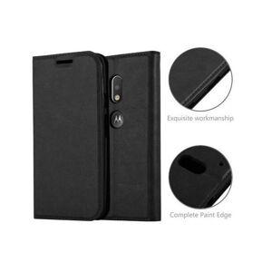Cadorabo (NIGHT BLACK) Cadorabo Case for Motorola  MOTO G4 PLAY case cover