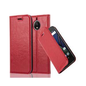 Cadorabo (APPLE RED) Cadorabo Case for Motorola MOTO G5S PLUS case cover