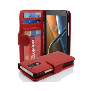 Cadorabo (INFERNO RED) Cadorabo Case for Motorola MOTO G4 / G4 PLUS case cover
