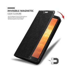 Cadorabo (NIGHT BLACK) Cadorabo Case for Motorola MOTO E5 PLAY case cover