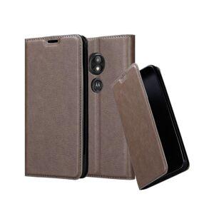 Cadorabo (COFFEE BROWN) Cadorabo Case for Motorola MOTO E5 PLAY case cover