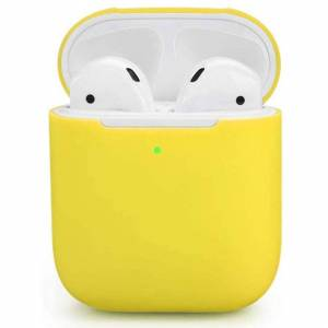 FinestBazaar Case For Apple Airpods 2 Earphones Silicone TPU Soft Skin Charger Cover - (3rd G